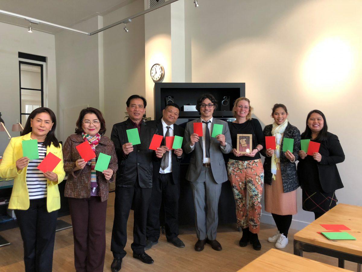 Thaise delegatie
