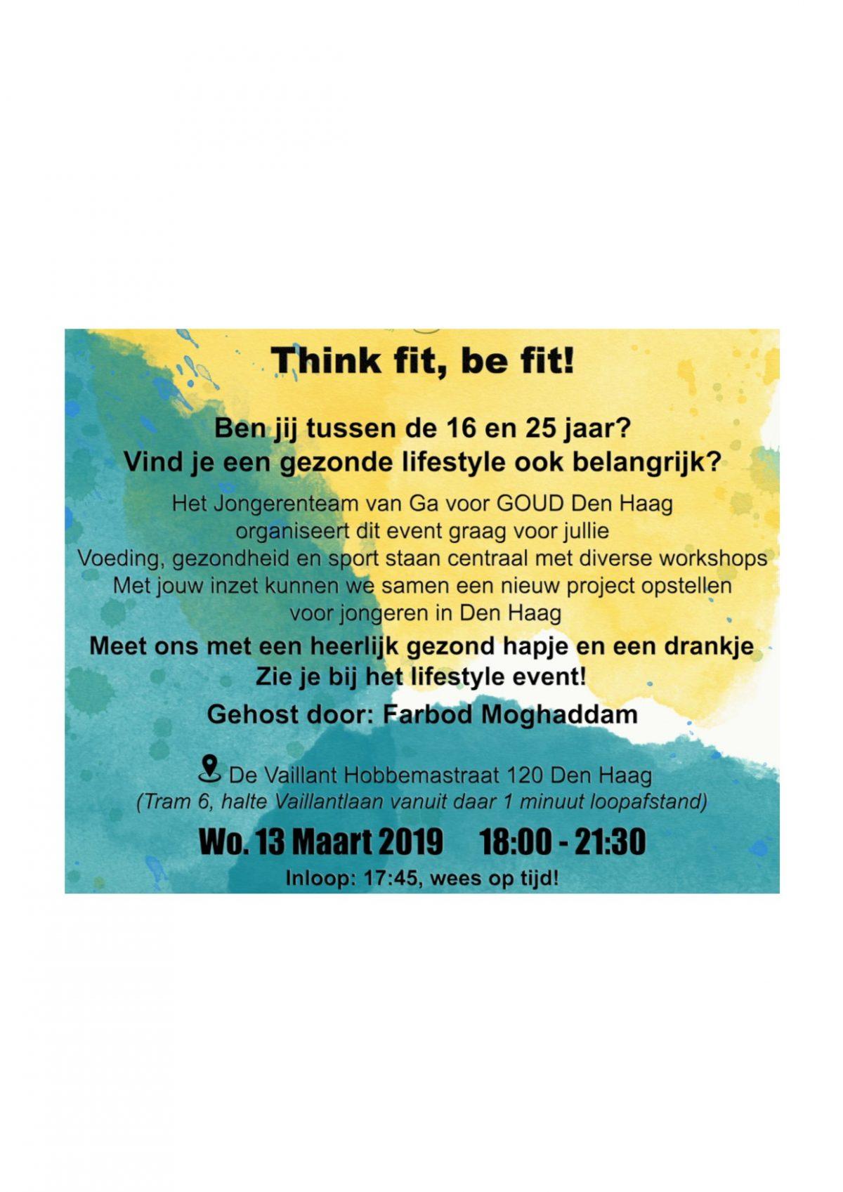 Ga Voor Goud Lifestyle event
