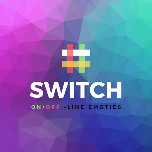 Switch- Online en offline emoties
