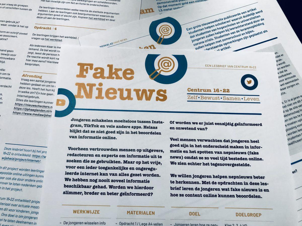 Aan de slag met Fake Nieuws?